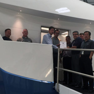 Axis Simulator Gains FAA Level D Approval
