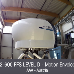 ALL IN MOTION FOR AXIS FLIGHT TRAINING SYSTEMS' LATEST ATR SIMULATOR