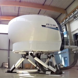 DOORS OPEN ON NEW ATR 72-600 SIMULATOR FROM AXIS FLIGHT TRAINING SYSTEMS