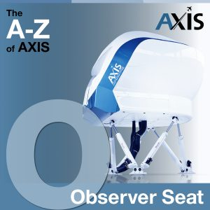 The A to Z of AXIS: O for Observer seat